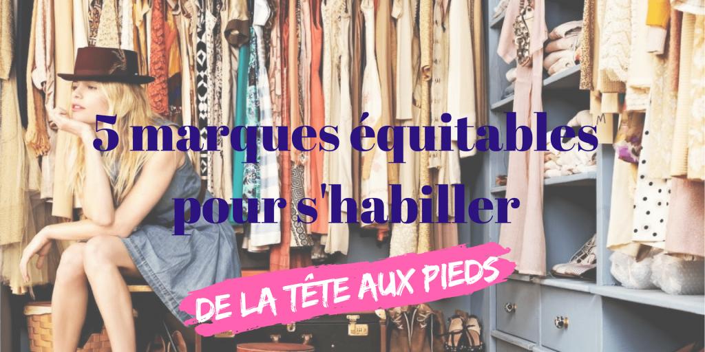 5 marques équitables pour s'habiller éthique