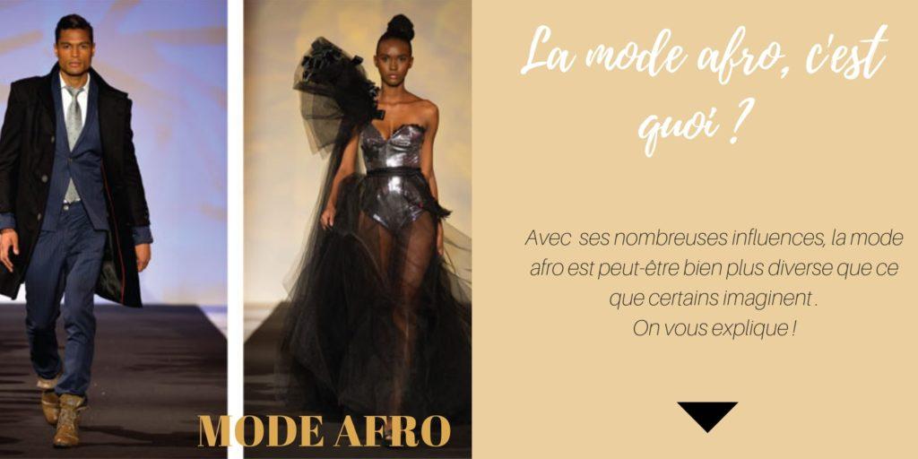 La mode afro - c'est quoi